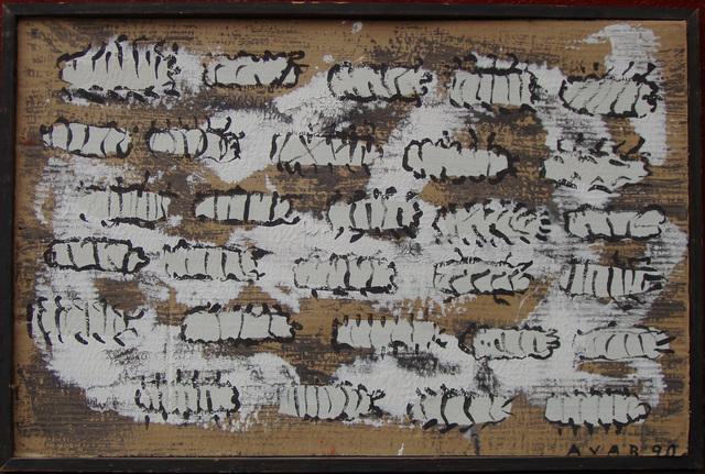", '""Worms"",' 1990, Krokin Gallery"