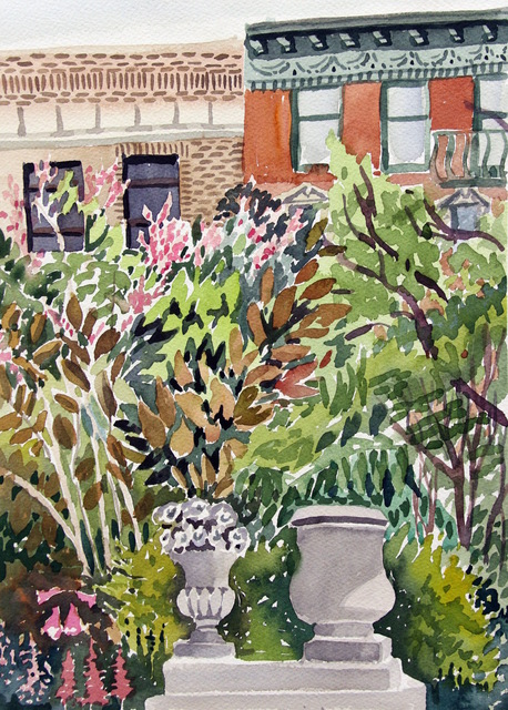 , 'Elizabeth Street Garden,' 2018, 440 Gallery