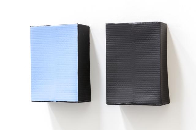 , 'Dix Jours / Dix Nuits (black),' 1985, Tatjana Pieters