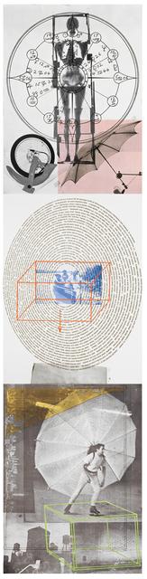 Robert Rauschenberg, 'Autobiography', 1968, Print, Three panel offset lithograph on three sheets, Hiram Butler Gallery
