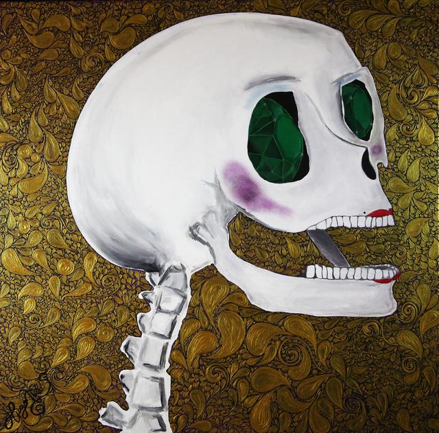 , 'Catrina Esmeralda,' 2017, Agora Gallery