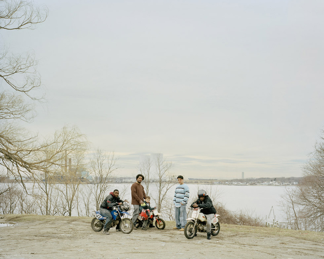 , 'Sneak, Will, Avery, Sergio & Kevin 						 					 						Fall River, Massachusetts,' 2012, ClampArt