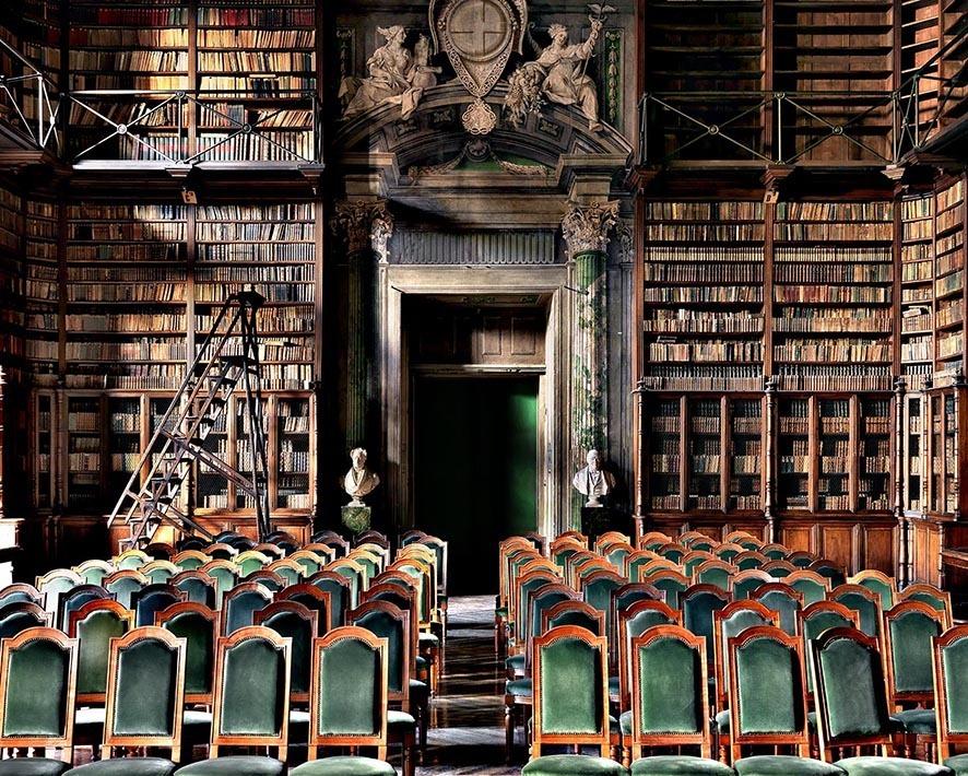 Biblioteca Accademia delle Scienze (Library), Torino, Italy