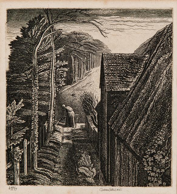 Graham Sutherland, 'Hanger Hill', 1929, Print, Etching on laid paper, Skinner