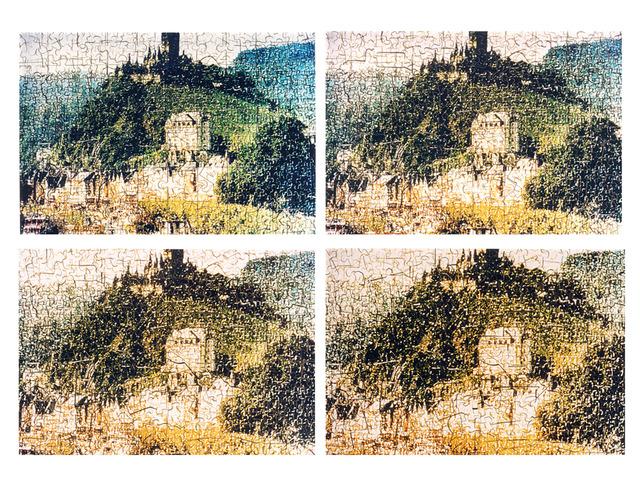 , 'Puzzle,' 2000, Celma Albuquerque Galeria de Arte
