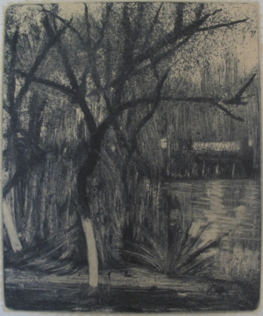 , 'Trees Around the Pond 水塘旁的树,' 2013, PIFO Gallery