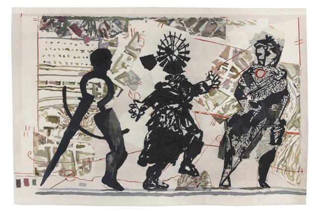 , '3 Figures,' 2010, Lia Rumma