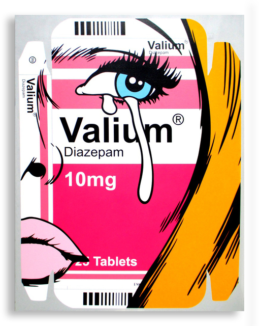 , 'Valium Lover,' 2015, StolenSpace Gallery