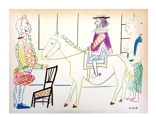 "Pablo Picasso, 'Lithograph ""Human Comedy"" after Pablo Picasso', 1954, Galerie Philia"