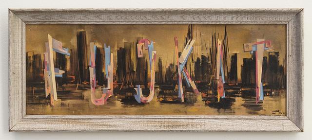, 'FUCKIT,' 2016, Joshua Liner Gallery