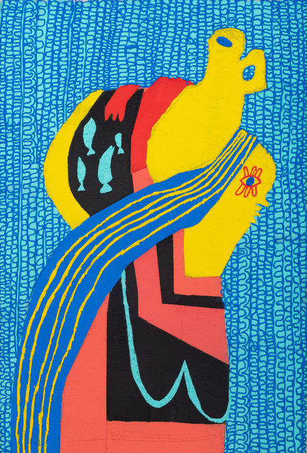 , 'Breadwinner with Fish,' 2018, Shulamit Nazarian