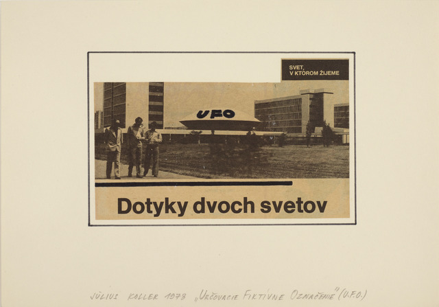 , 'Urcovacie Fiktivne Oznacenie (U.F.O.),' 1978, Galerie Martin Janda