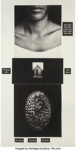 Lorna Simpson, 'Counting', 1991, Heritage Auctions