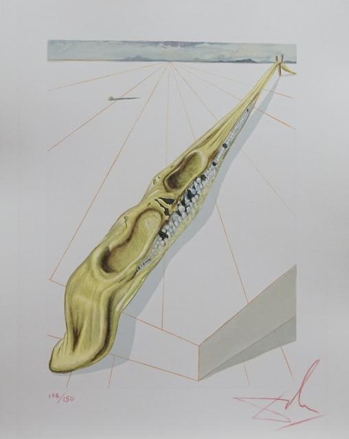 Salvador Dalí, 'Divine Comedy Hell Canto 14', 1968, Fine Art Acquisitions