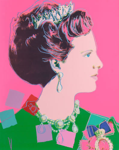 Andy Warhol, 'Queen Margrethe II, pink background (from Reigning Queens)', 1985, Fine Art Auctions Miami
