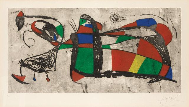 Joan Miró, 'Tres Joans (D. 1034)', 1978, Doyle