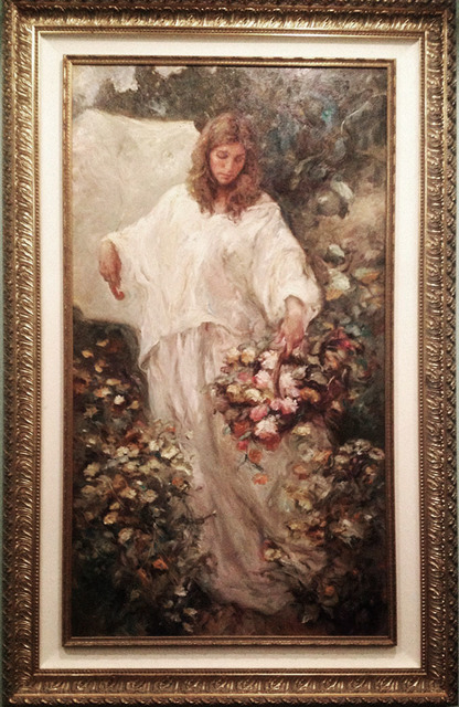 Jose Royo, 'Lucia Entre Margaritas', 2002, Robin Rile Fine Art