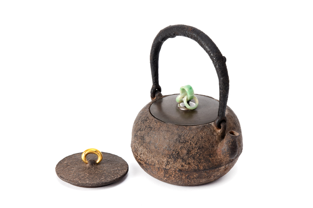 SHOEIDO, 'Iron tea pot', ???, Yumekoubou Antique