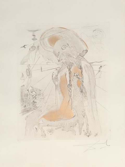 Salvador Dalí, 'Athena, from The Mythology', 1963, Heritage Auctions