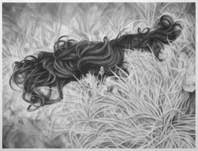 , 'Wig in the Weeds,' 2014, Jonathan LeVine Projects