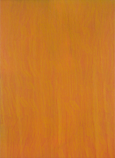 , '49-17 Yellow on Orange,' 2017, Charles Nodrum Gallery