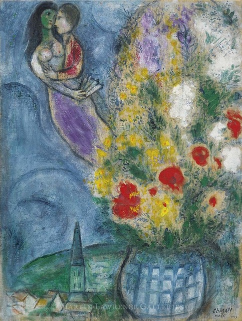 , 'Les Coquelicots ,' 1949, Martin Lawrence Galleries