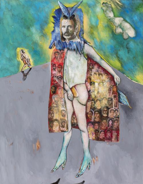, 'Autoportrait avec cape de Fatoum,' 2018, Stevenson