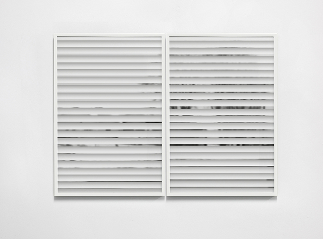 , 'Single Hung 3-4,' 2015, Anat Ebgi