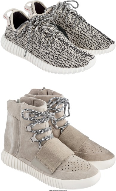 Adidas X Yeezy, 'Boost 350 OG, Boost 750 OG; 2 pairs', 2015, Heritage Auctions