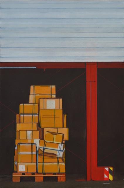 Thoralf Knobloch, 'Kisten', 2019, Painting, Oil on canvas, Gaa Gallery