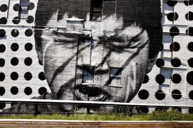 , 'Inside Out, Native American, Highline close-up, New York, USA, 2012,' 2012, Jeffrey Deitch