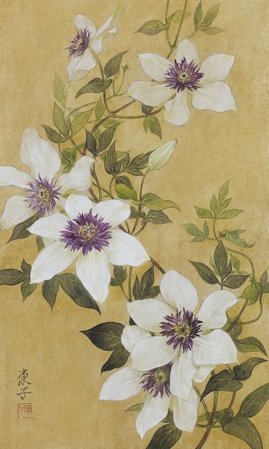 Toko Okamoto, 'Clematis', 2014, Shukado Gallery