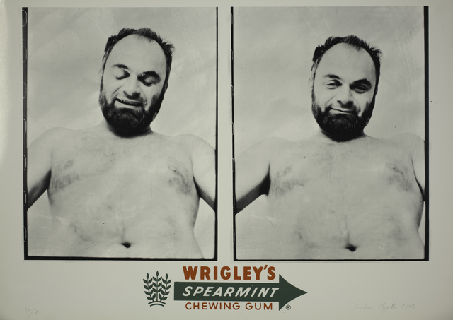 Tomislav Gotovac, 'Wrigley's Spearmint Chewing Gum', 1978, Galerie Michaela Stock
