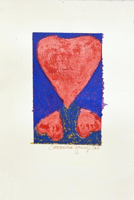 , 'Three Hearts Belonging,' 2018, Carter Burden Gallery