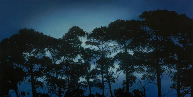 , 'Evening Pines ,' 2017, OLSEN GALLERY