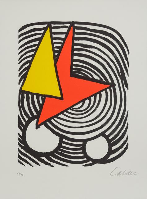 Alexander Calder, 'Triangle et Quadrilatere', Hindman