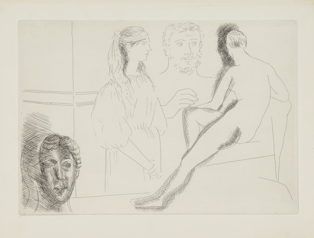 Pablo Picasso, 'Le Chef-d'Oeuvre Inconnu (B. 82-94; Ba. 123-45)', 1931, Print, The complete book edition, comprising 13 etchings, with text by Honoré de Balzac, Sotheby's