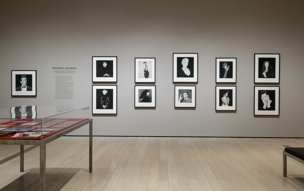 "Installation photograph of ""Robert Mapplethorpe: The Perfect Medium"" March 20, 2016–July 31, 2016. Photo: © 2016 Museum Associates/LACMA. Artwork © Robert Mapplethorpe Foundation"