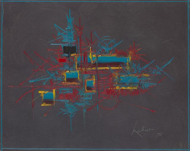 Georges Mathieu, 'Pandosie', 1976, HELENE BAILLY GALLERY