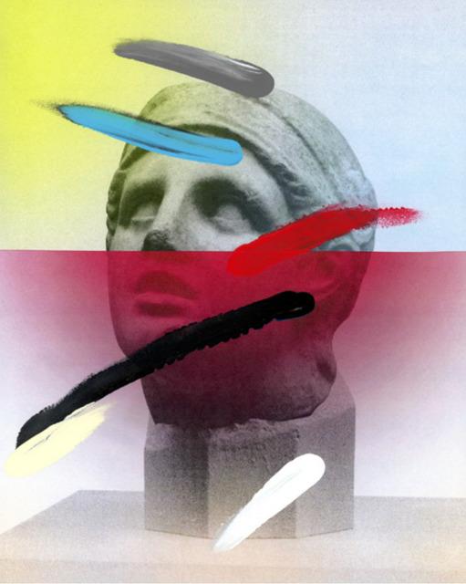 , 'Composition on Panel 20,' 2016, Joseph Gross Gallery