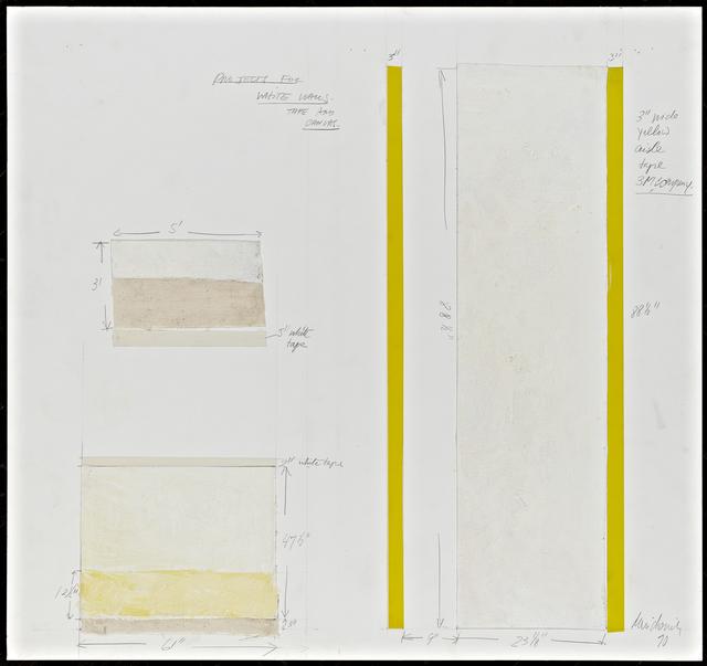 , 'Project for White Walls,' 1970, Henrique Faria Fine Art
