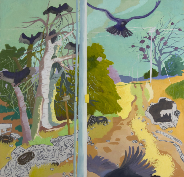 Lindy Chambers, 'Buzzies On the River Road', 2013, Valley House Gallery & Sculpture Garden