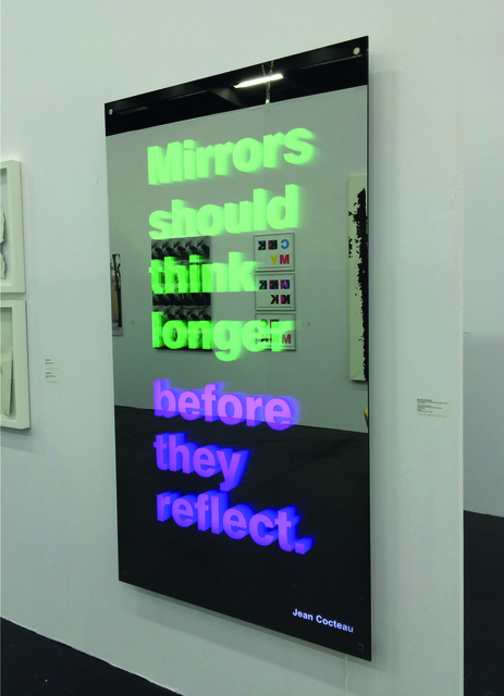 , 'Mirror Should Think Longer Before They Reflect,' 2015, Mario Mauroner Contemporary Art Salzburg-Vienna