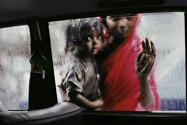 Steve McCurry, 'Mother and Child at Car Window, Bombay, India', 1993, Huxley-Parlour