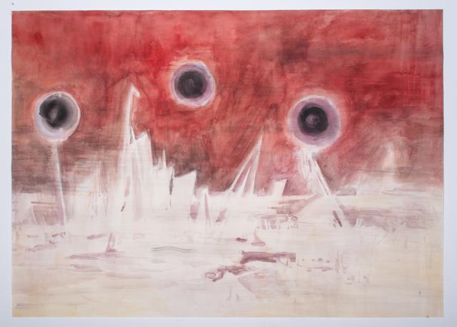, 'Seestück negativ nach Friedrich ,' 2018, Galerie Gisela Clement