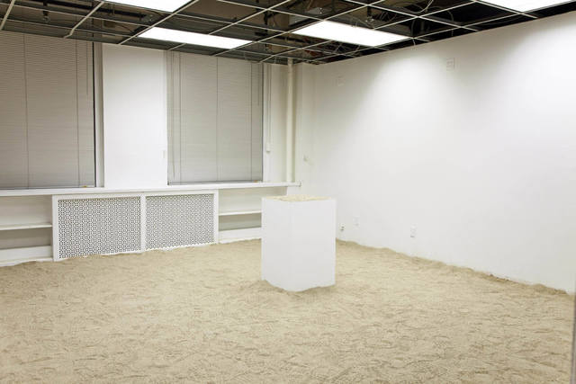 Brendan Lynch, 'Whoop There It Is!', 2010, Installation, Sand and pedestal, The Still House Group