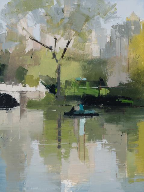 Lisa Breslow, 'Boaters 3', 2018, Kathryn Markel Fine Arts