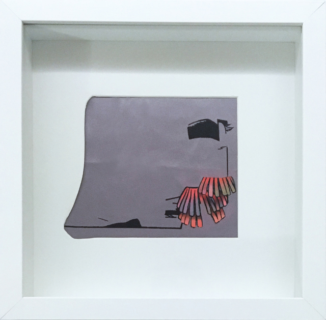 , 'SGB (fringe 2),' 2017, Red Arrow Gallery
