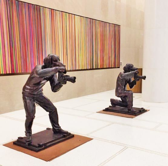 , 'Paparazzi Dogs – Rockefeller Centre, New York City,' , Gillie and Marc Art Gallery