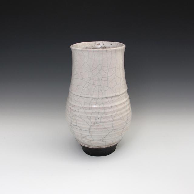 Danucha Brikshavana, 'White Crackle Raku Vase', 2019, Springfield Art Association